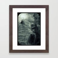 Whitechapel By Gaslight Framed Art Print