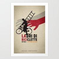 Ladri di biciclette Art Print