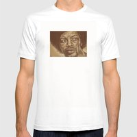 The Story Of G.S.Heron-1… Mens Fitted Tee White SMALL