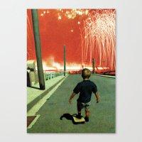 walkmen  Canvas Print