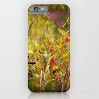 iPhone & iPod Case featuring Fall Field by Em Beck