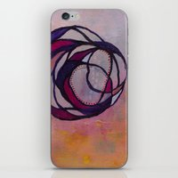 Pink Spiral iPhone & iPod Skin