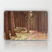 A Path in the Woods Laptop & iPad Skin
