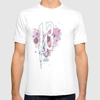 143 Mens Fitted Tee White SMALL