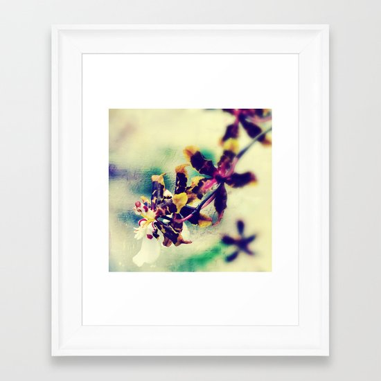 The Art of the Orchid Framed Art Print