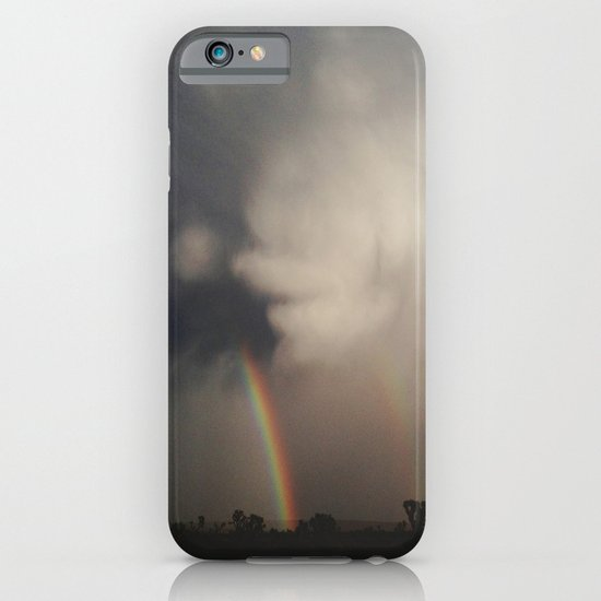 Fist Cloud Rainbows iPhone & iPod Case