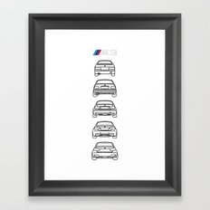 M3 Rears Framed Art Print