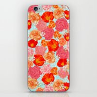 RING A RING O' ROSES -po… iPhone & iPod Skin