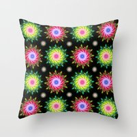 FLOWER PATTERN Throw Pillow