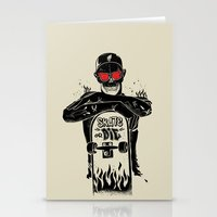 SKATE OR DIE Stationery Cards