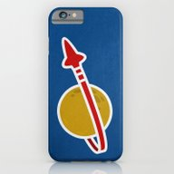 Blue Spaceman iPhone 6 Slim Case