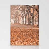 Autumn in Melbourne Stationery Cards