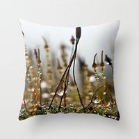 Life In The Balance Throw Pillow