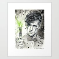 Doctor Who: The 11th Doc… Art Print