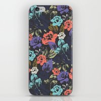 Midnight Garden Pop iPhone & iPod Skin