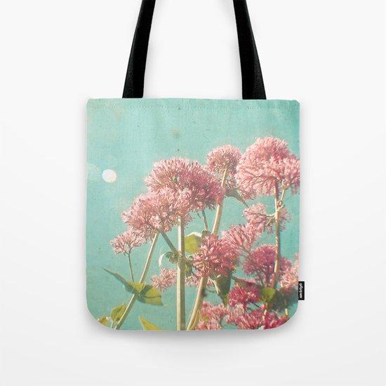 Pink Milkweed Tote Bag