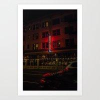 Crystal Hotel, Portland … Art Print