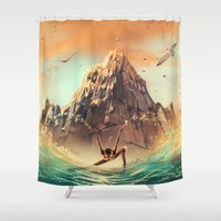 CAPRICORN from the Dancing Zodiac Shower Curtain