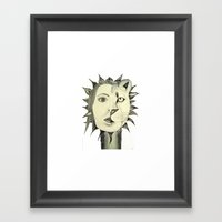 Sun Warrior Framed Art Print
