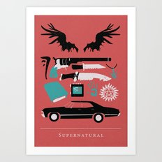 Supernatural Art Print