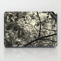 Monochrome Leaf's  iPad Case
