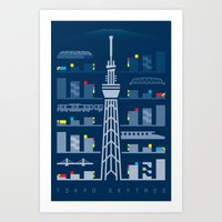 Tokyo Skytree Art Print