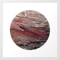 Planetary Bodies - Bark Art Print