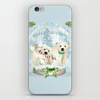 Snow globe bears iPhone & iPod Skin