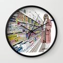 Jeffrey Lebowski and Milk. Wall Clock