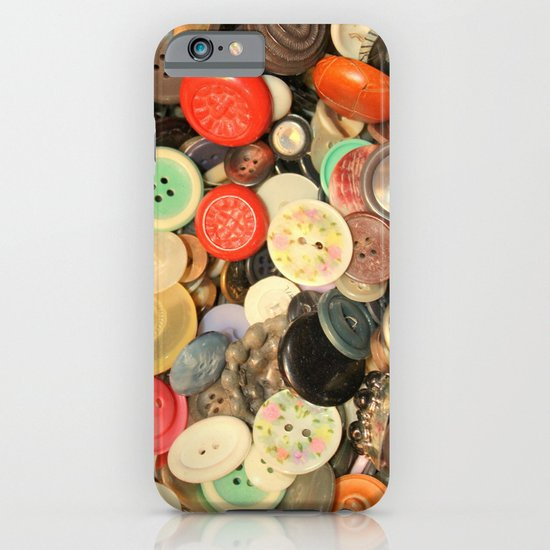 Push My Buttons iPhone & iPod Case
