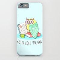 Reading Owl iPhone 6 Slim Case