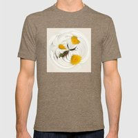 Pick Me Round - Daisy Mens Fitted Tee Tri-Coffee SMALL