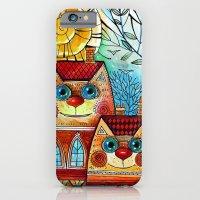 City Cats iPhone 6 Slim Case