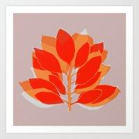 Blossom Spice Art Print