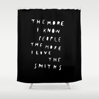 THE SMITHS Shower Curtain