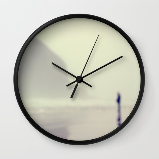i saw you standing there Wall Clock