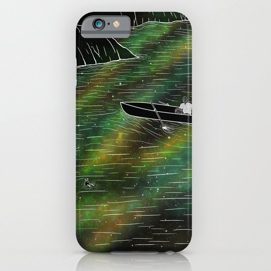 The Space Ship iPhone & iPod Case