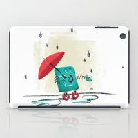 Rain Is Bad For Robots iPad Case