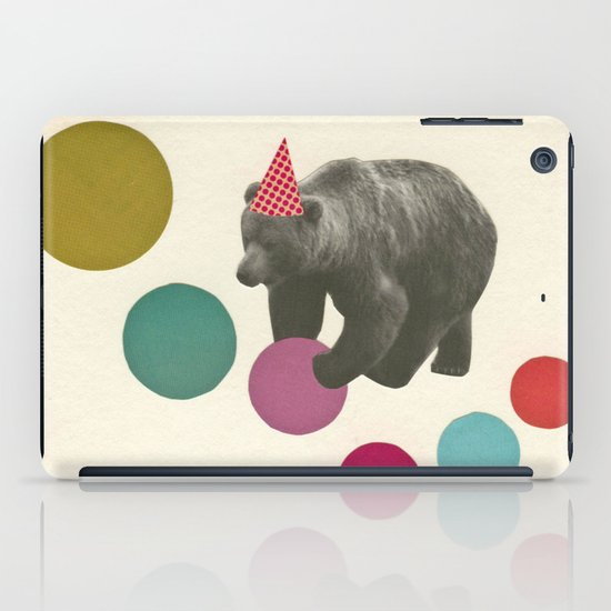 Birthday Bear iPad Case