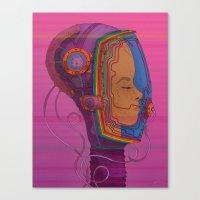 Biometric Signatureactio… Canvas Print