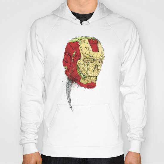 The Death of Iron Man Hoody