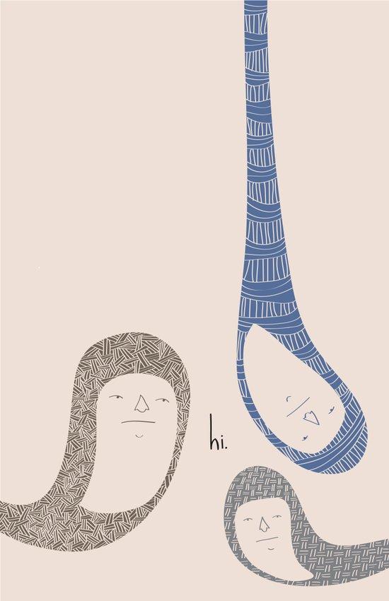 HI. Art Print