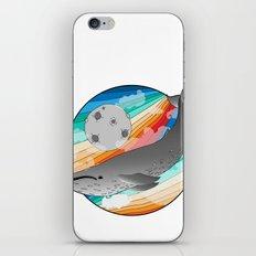 Magic Whale iPhone & iPod Skin