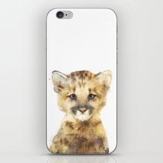 Little Mountain Lion iPhone & iPod Skin