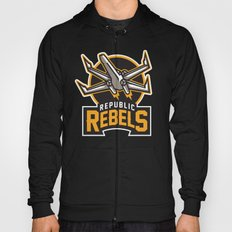 Republic Rebels - Black Hoody