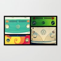 VW Collage Canvas Print