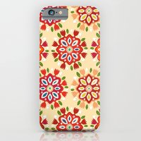 iPhone Cases featuring FLOR by Sharon Turner