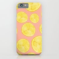 iPhone & iPod Case featuring Lemon Love by Allyson Johnson