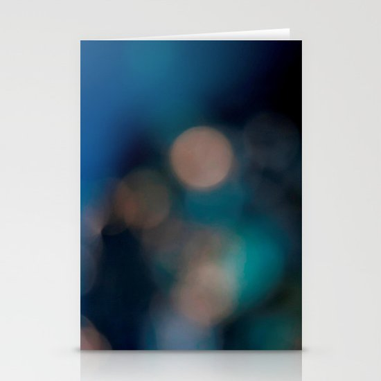 Abstract in Blue, No. 2 Stationery Card