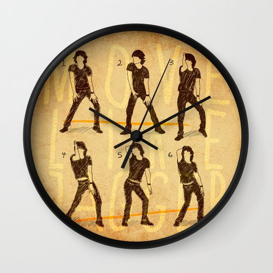 Move Like Jagger (MOVE LIKE COLLECTION) Wall Clock